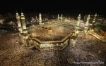 Muslim pilgrims circle the Kaaba at the center of the Grand mosque in Mecca during the annual Hajj pilgrimage November 11, 2010. (REUTERS/Mohammed Salem) #