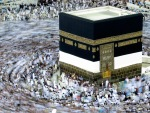 Muslim pilgrims move around the Kaaba, inside the Grand Mosque in Mecca, Saudi Arabia on Saturday, Nov. 13, 2010. (AP Photo/Hassan Ammar) #